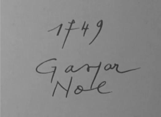 گاسپار نوئه در مستند Cinématon