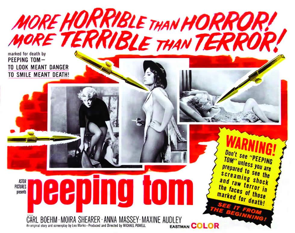 (Peeping Tom) تحلیل روانی فیلم چشم چران