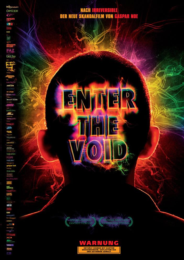 پوستر Enter the Void گاسپار نوئه - پوستر آلمانی