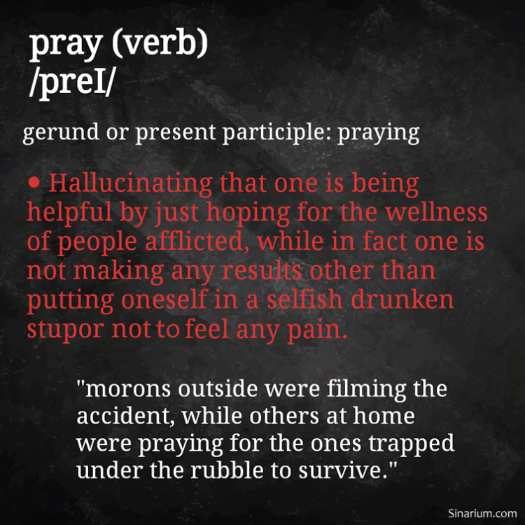 Definition of Pray