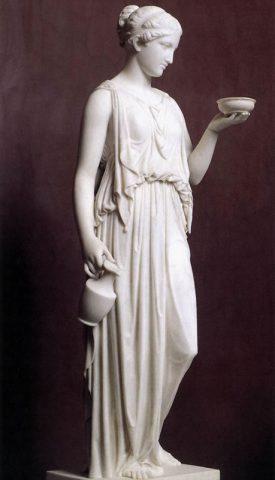 """Hebe"" by Berthel Thorvaldsen (1806) Thorvaldsens Museum, Copenhagen Shams Langroudi"