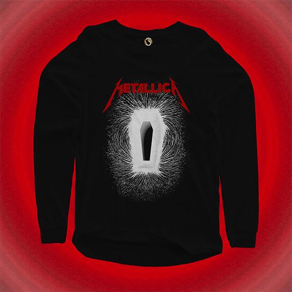 طرح لباس گروه موسیقی Metallica