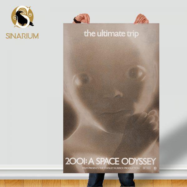 پوستر فیلم 2001: A Space Odyssey استنلی کوبریک