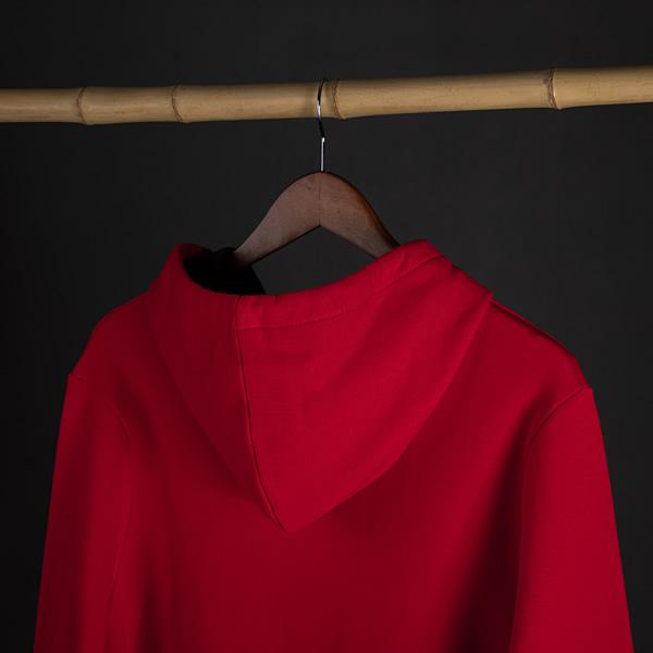 سویشرت جلو بسته قرمز