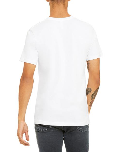 تیشرت آستین کوتاه یونیسکس سفید